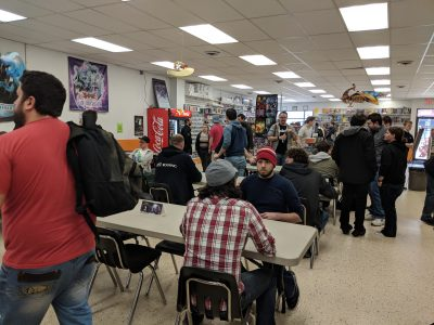 A very packed Brimstone Games.