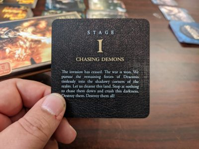 The Stage 1 story from Wrath for Draconis Invasion