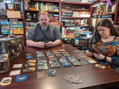 Sean and Deanna playing Draconis Invasion with Wrath