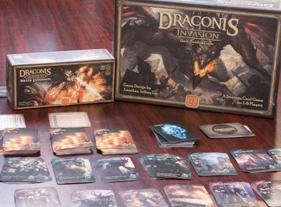 The boxes for Draconis Invasion and the Wrath Expansion