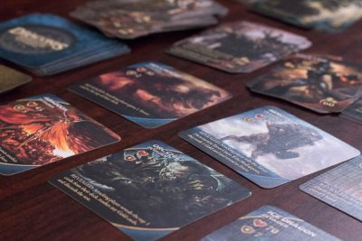 Cards from Draconis Invasion with the Wrath Expansion.