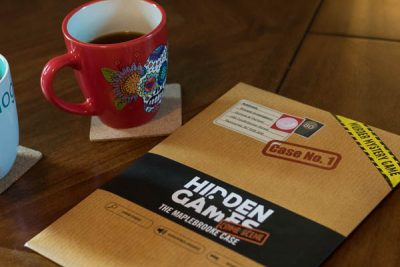 We successfully completed Hidden Games Crime Scene Case No. 1